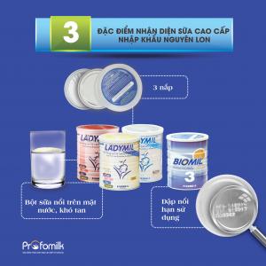 3 dấu hiệu nhận biết sữa chất lượng