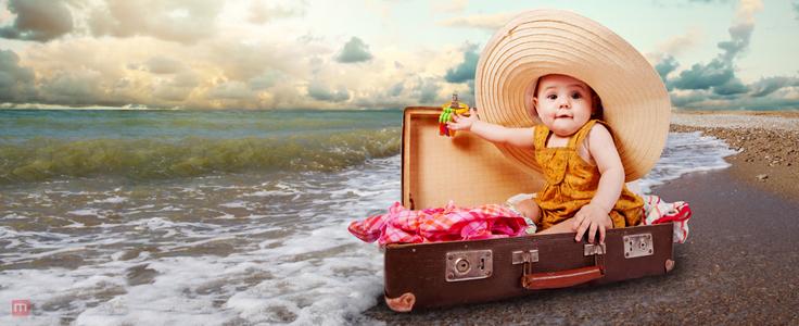 10 thứ không thể thiếu khi đưa trẻ sơ sinh đi du lịch