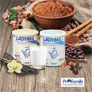 2 ly Ladymil/ngày cung cấp đầy đủ lượng sắt và canxi cho phụ nữ mang thai theo khuyến nghị DRI